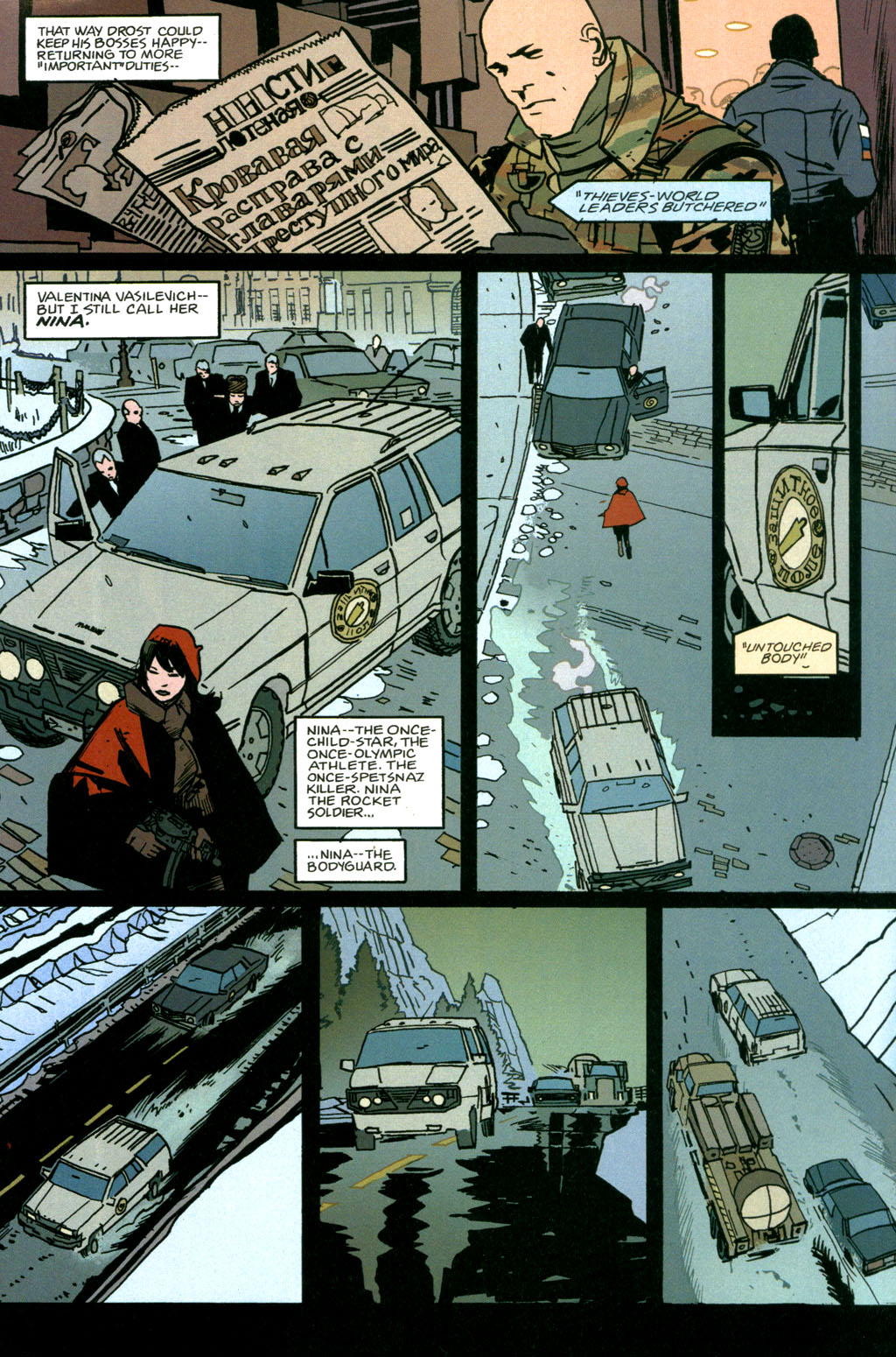 Read online The Winter Men comic -  Issue #1 - 13