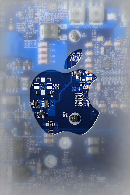 Apple Logo iPhone Wallpaper By TipTechNews.com-3