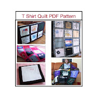 T Shirt Memory Quilt PDF Pattern