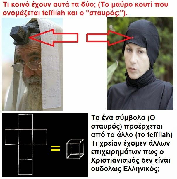 Ο Χριστιανισμός δεν είναι ουδόλως Ελληνικός.
