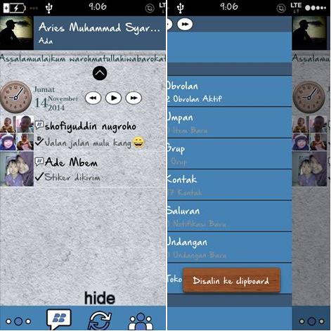 BBM Mod Blackberry v2