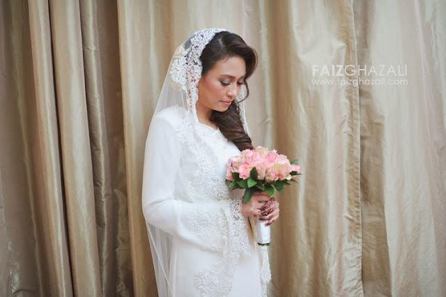 baju kahwin kurung