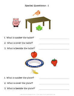 "Daily Autism Freebie: ""Spatial Concepts: Questions about Object ..."