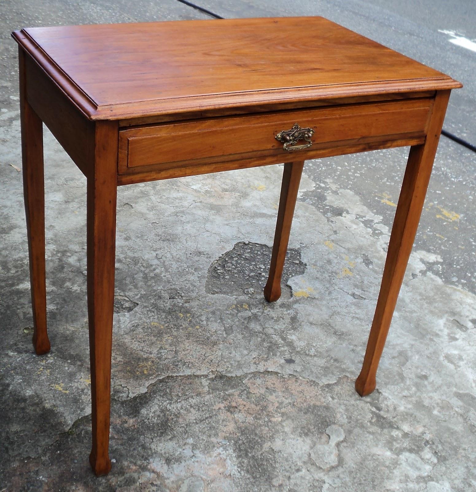 antiqualha: Mesa escrivaninha de Peroba do Campo #783B18 1551x1600
