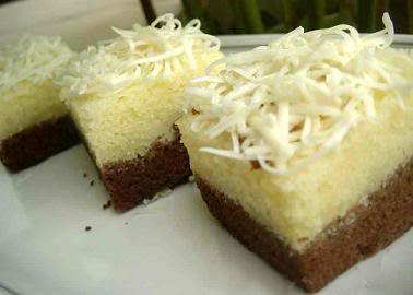 Resep Brownies Kukus Capuccino Cheese Drop