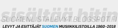 Sisältää hitin: Levyt ja esittäjät Suomen musiikkilistoilla vuodesta 1960