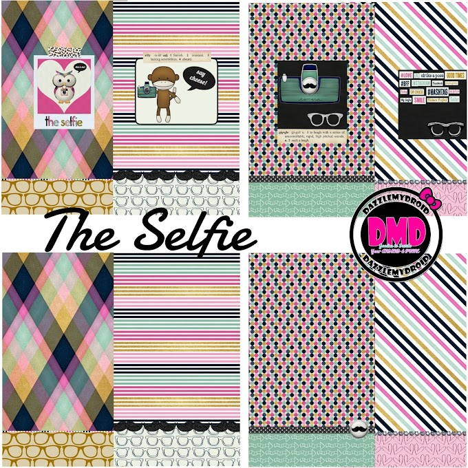 "FREEBIE!!! 8 PIECE WALLPAPER COLLECTION ""THE SELFIE"""