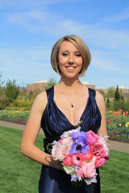 Maid of Honor Bouquet - Splendid Stems Floral Designs