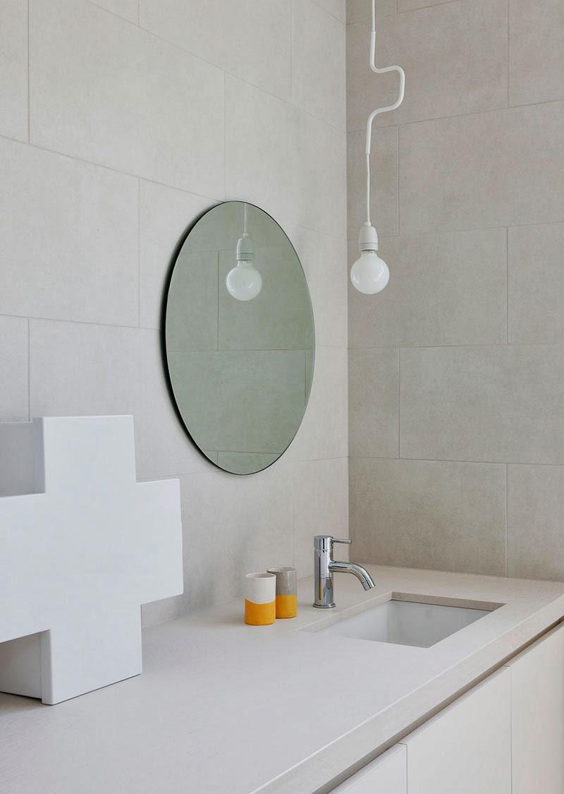 Espejos sin marco 39 vintage 39 o actuales para decorar tus - Decorar espejo bano ...