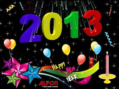 Beautiful Latest Happy New Year Photos 2013