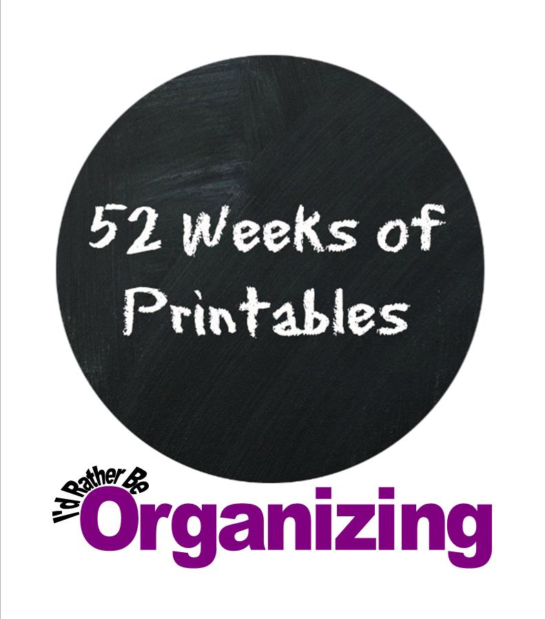 http://idratherbeorganizing.blogspot.com/p/printables.html