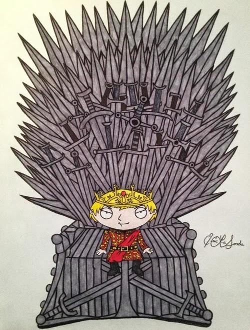 02-Seth-MacFarlane-Stewie-Griffin-Jack-Gleeson-Joffrey-Baratheon-timburtongameofthrone-Family-Guy-Game-of-Thrones-Mashup-www-designstack-co