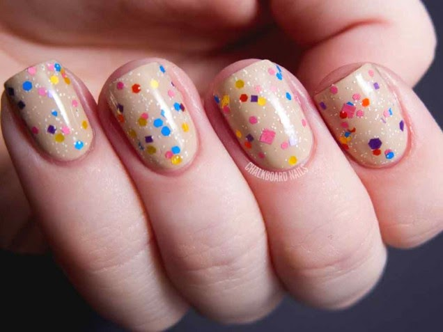 Top 5 cool nail designs easy to do at home nail art designs for teens and women - Easy nail design ideas to do at home ...