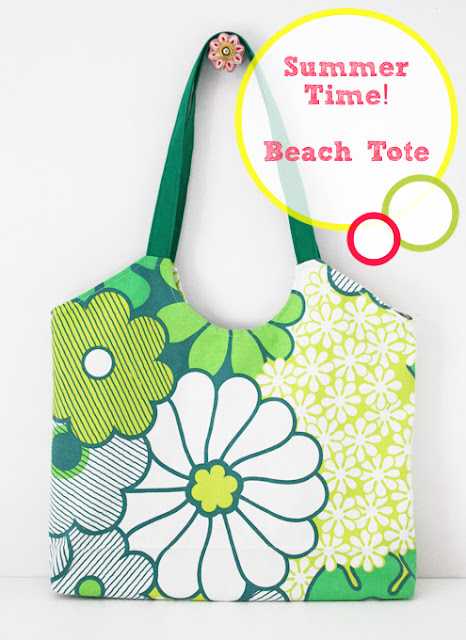 Beach tote sewing pattern
