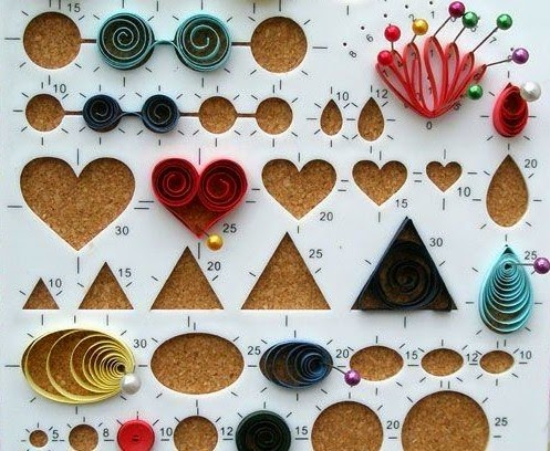 Paper quilling tools kit