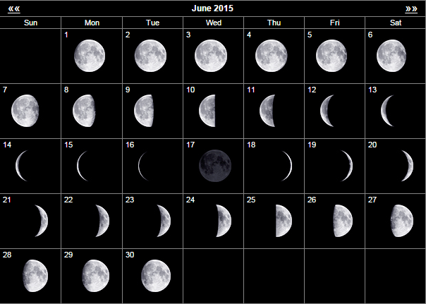 June Calendar With Moon Phases : Astarte moon inspirations a life closer to nature s rhythms