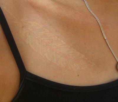 Magakhmer white tattoos for White tattoo on black skin