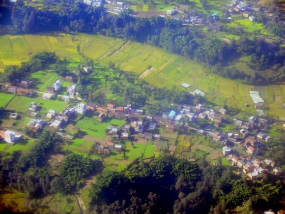 katiecrackernuts.blogspot.com || Nepal from the air