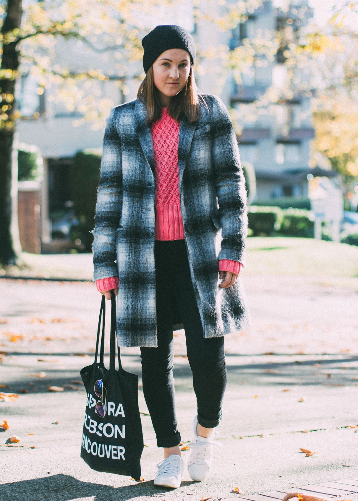 Acne Studios, Zara and J Brand - Fall outfit - Vancouver fashion blogger