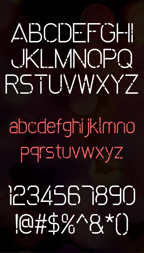 Font Commercial Gratis Terbaru Untuk Desainer Grafis - Bokeh Free Font
