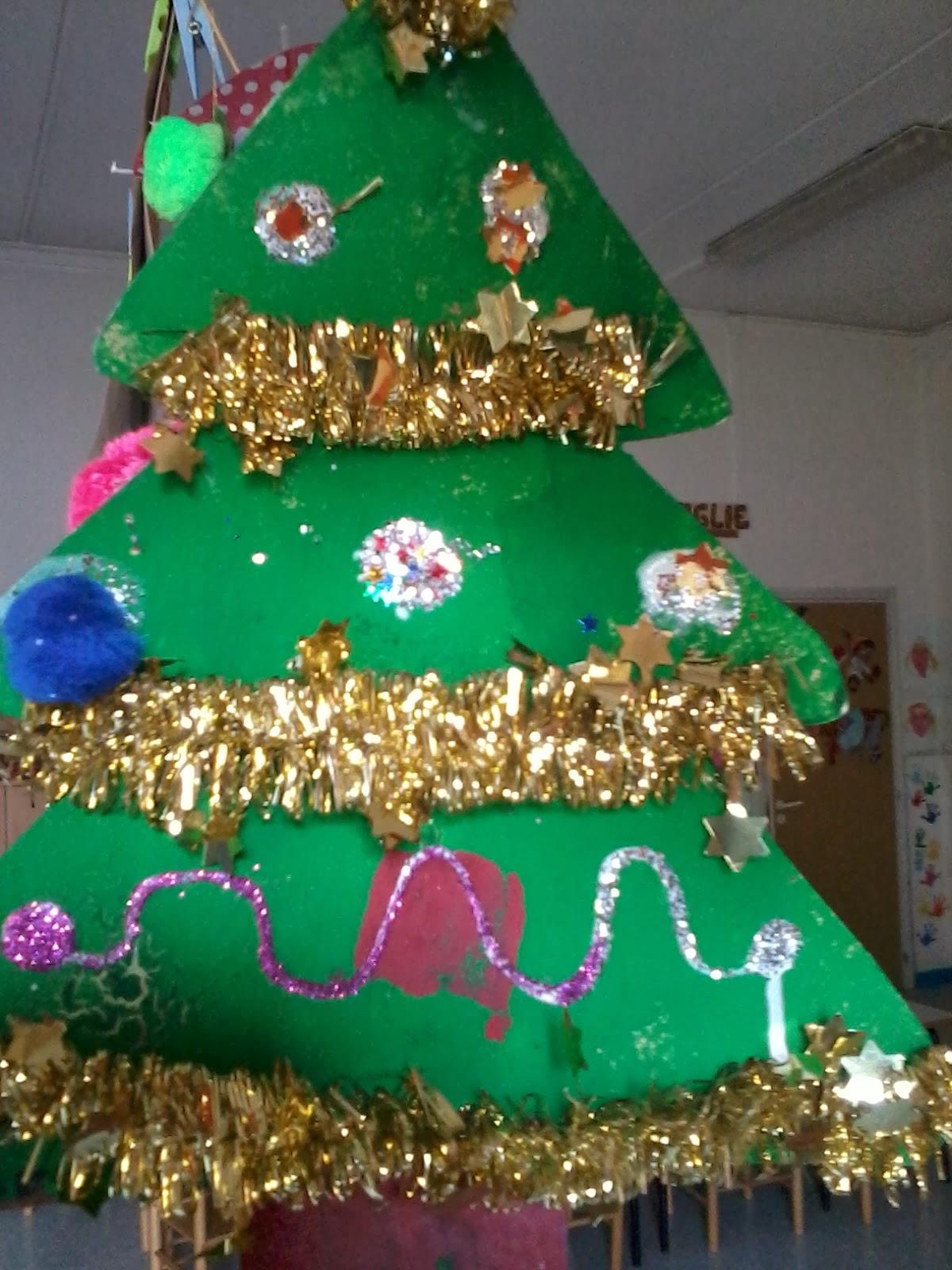 Maestra laura alberi di natale super decorati - Alberi di natale super magri ...