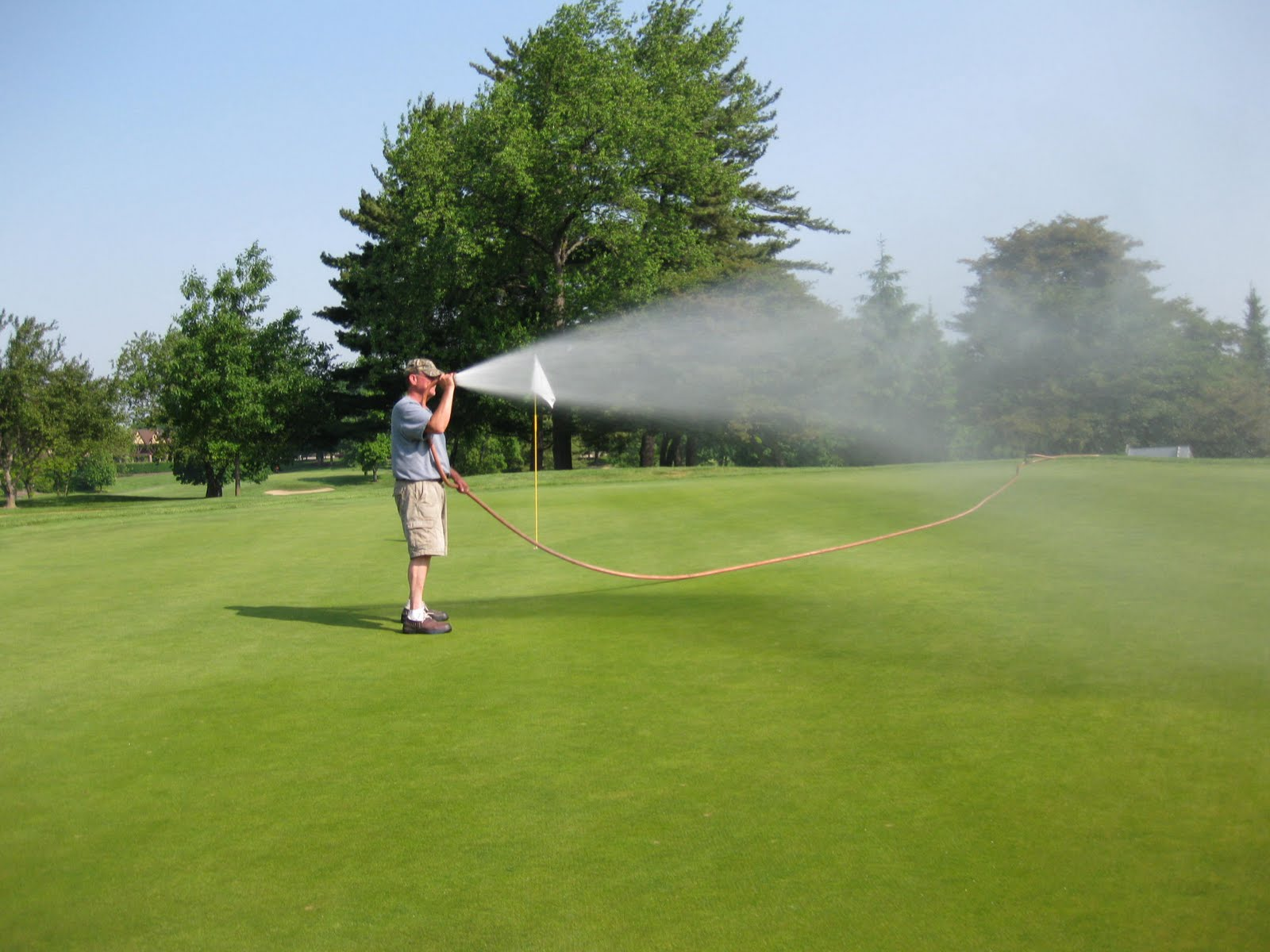 Meadowbrook country club golf course maintenance the art