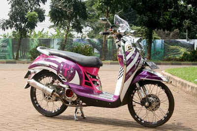 Modifikasi Motor Scoopy