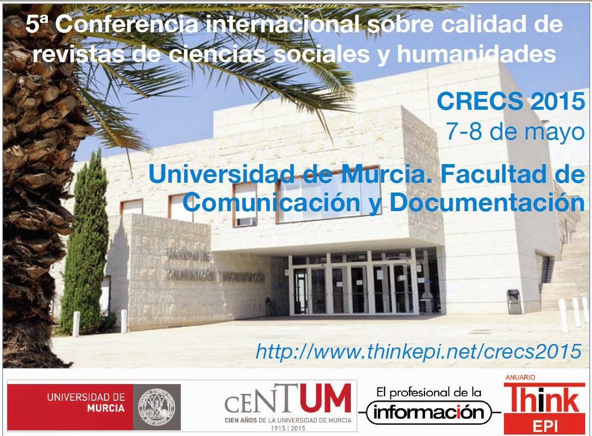 5ª Conferencia internacional sobre revistas de ciencias sociales y humanidades.