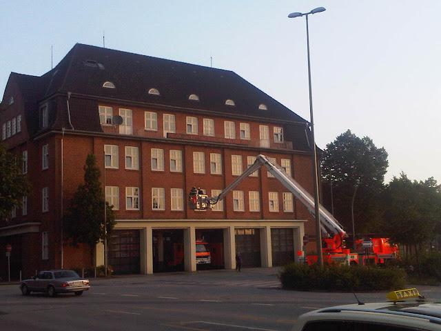 Feuerwache Berliner Tor - Drehleiter