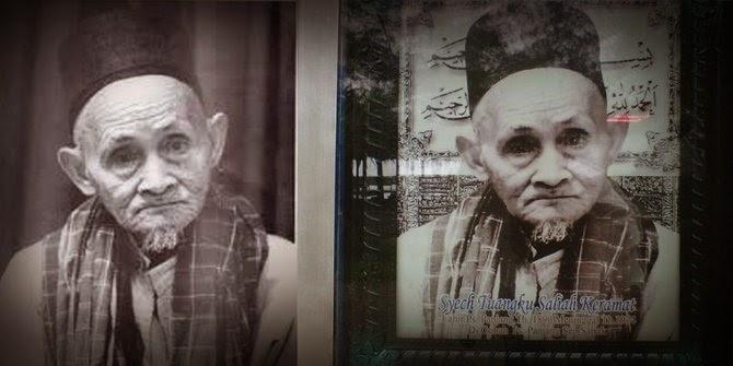 Foto Kakek-Kakek Tua di Rumah Makan Padang