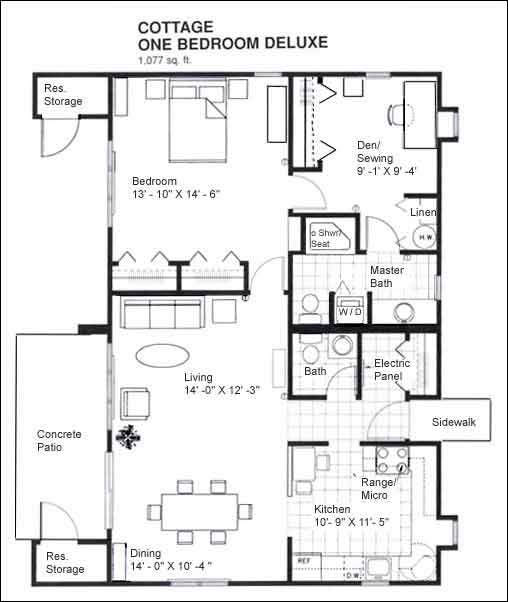 2 bedroom cabin floor plans submited images