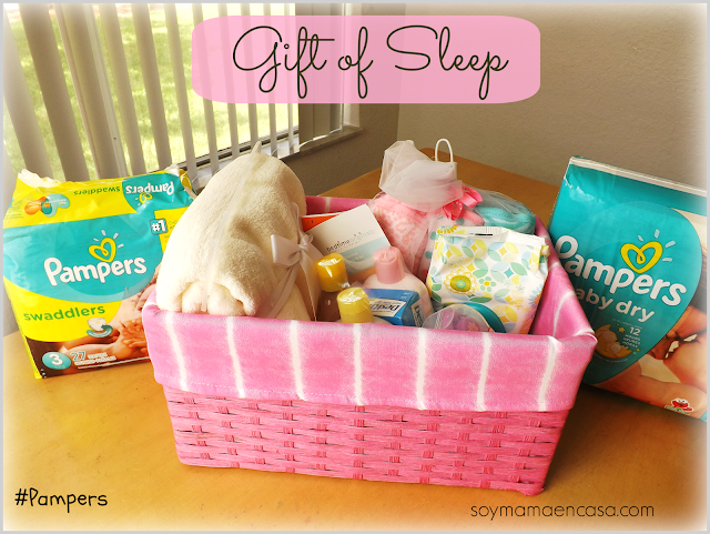 Gift of Sleep Pampers spon sorteo
