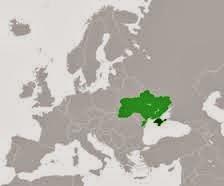 الموقع الجغرافي لشبه جزيرة القرم