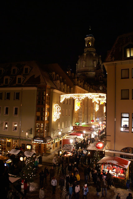 Christmas Market germany crowd