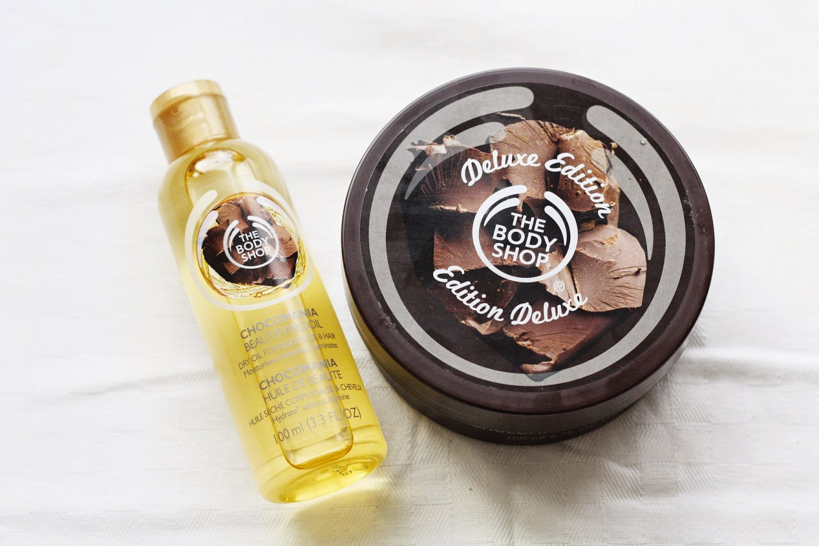 The Body Shop Chocomania Body Oil Review