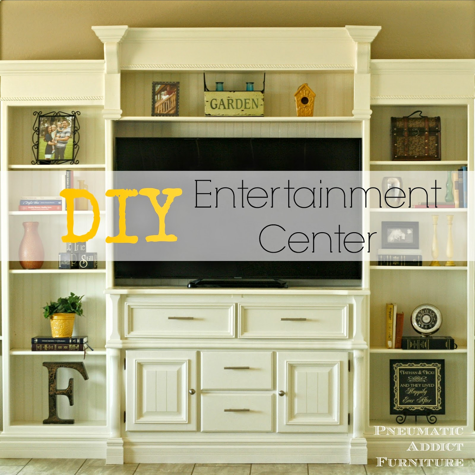DIY Entertainment Center Square