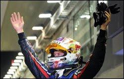Vettel a um ponto do título na Fórmula 1 2011 Net Esportes