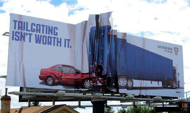 publicidade outdoors criativos
