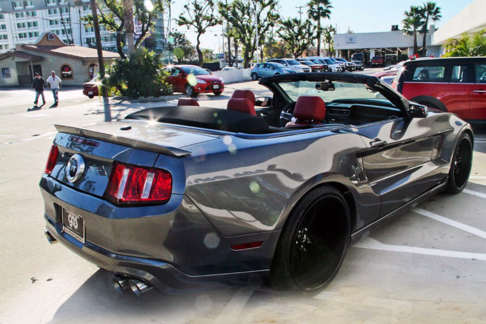 Galpin Auto Sports Builds Custom Widebody Mustang