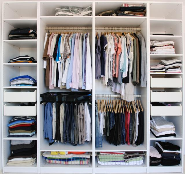 Finding the best desks tips for how to organize your closet for How to organize your small bedroom closet