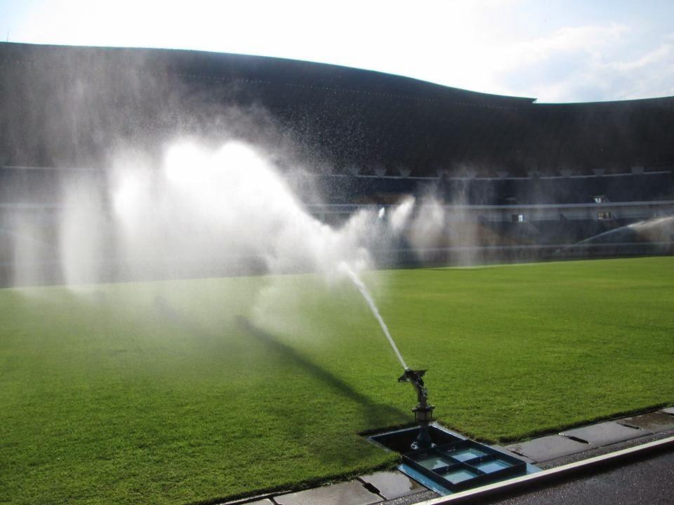 Foto Kemegahan Stadion Gelora Bandung Lautan API (GBLA) Terbaru