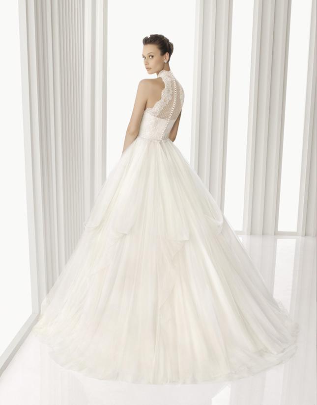 Rose Wedding Dress Clara