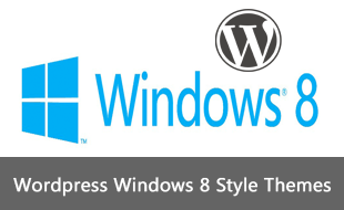 windows 8 style wordpress themes