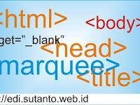 HTML berjalan