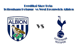 Skor Bola Tottenham Hotspur vs West Bromwich Albion