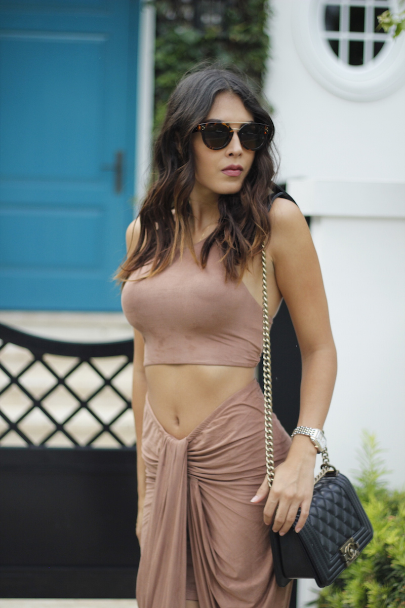 suede crop top hot miami styles