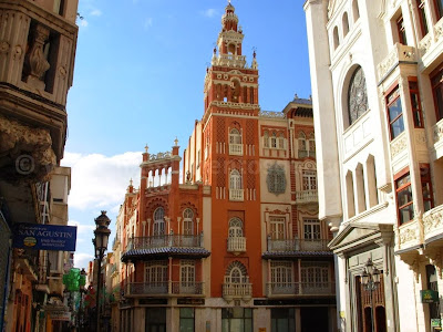 The Giralda in Badajoz