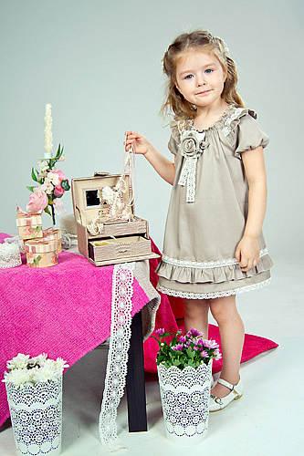 Кружевные Платья Для Девочек Купить