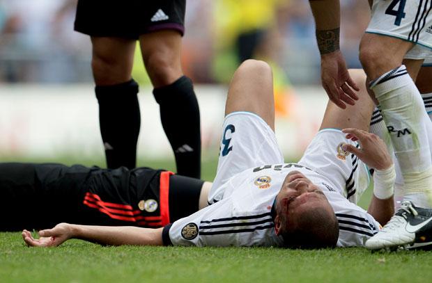 Pepe Real Madrid 2012