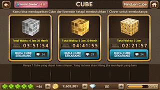 Trik Membuka dan Mendapatkan Legendary Cube Get Rich Terlengkap dan Terpercaya.